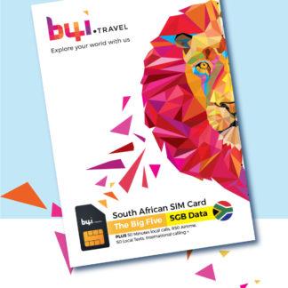 south africa travel sim - big 5 - img